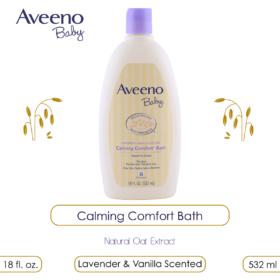 Aveeno Baby Calming Comfort Bath, 532ml