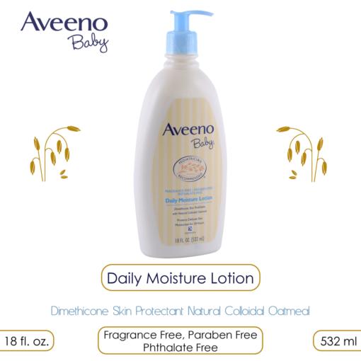 Aveeno Baby Daily Moisture Lotion 532 ml