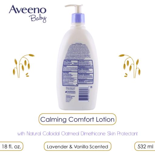 Aveeno Baby Calming Comfort Lotion, 18 Fl Oz