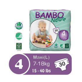 Bambo nature size 4