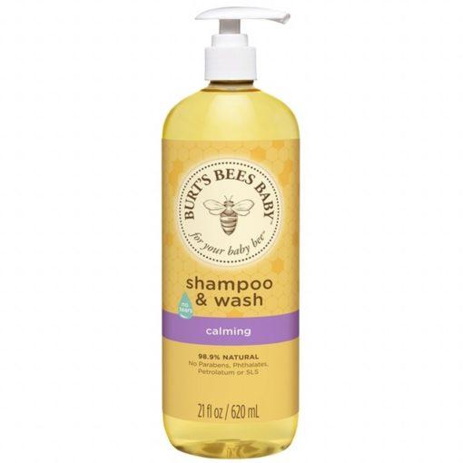 Burt?s Bees Baby Shampoo & Wash Calming, 620ml